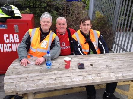 David Clarke, Mark Churchill, Aidan Willis