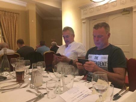 Playing with the phone Derek Heaslip Alan Mathews