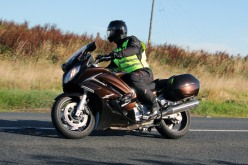Brian O'Reilly cornering on the Slane Road