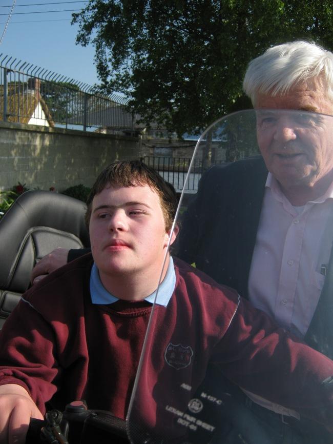 David McArdle & dad Harry McArdle