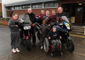 Riders with Students St Ita's Special School