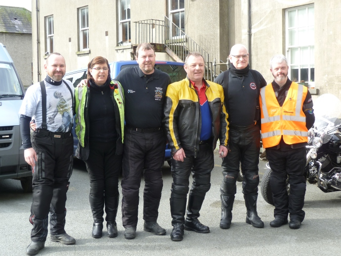 Joe Swords, Elaine Leavy, Brian Kerr, Martin Byrne, Michael McCormick & David Clarke