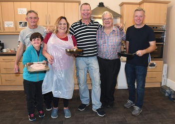 Cooks at the Run of the Country Breakfast at Malta Services Photo Jimmy weldon
