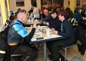 Joe Swords Geraldine Martin & Elaine Leavy Breakfast of champions