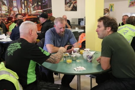 Mark Churchill Bill Willis & Derek O'Connor