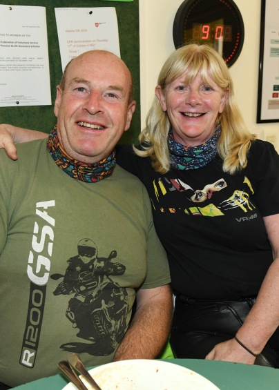 Peter and Brid O' Donoghue at the Run of the Country Breakfast at Malta Services Photo Jimmy weldon